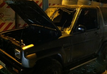 Due auto in fiamme a Sorrento in meno di un'ora