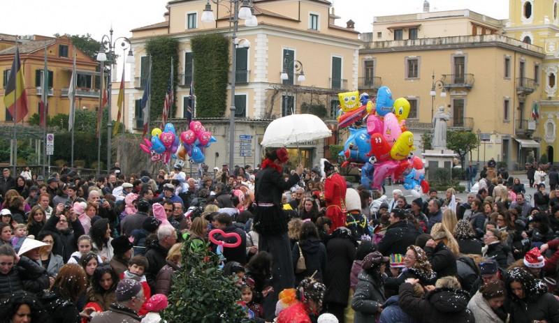 Domenica primo appuntamento con il Carnevale di Sorrento