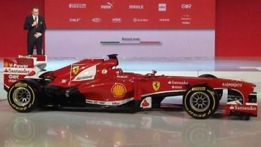 Ferrari, presentata la nuova F138