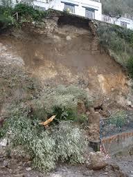Frana la Raffaele Bosco ed i collegamenti con la vasta zona collinare vanno in tilt
