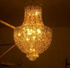 Lampadari realizzati a Sorrento per un prestigioso negozio in Kazakistan