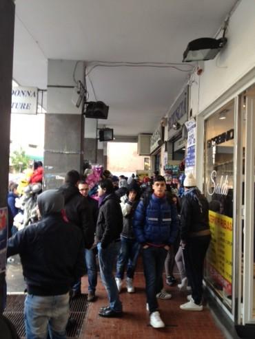 Tabaccheria di Piano presa d'assalto per i biglietti di Napoli – Juve
