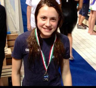 Swimming Sorrento, oro a Riccione per Sveva Schiazzano