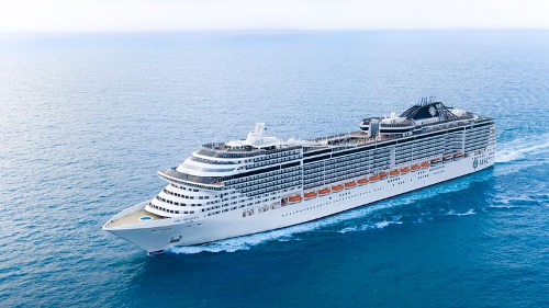 Msc Crociere leader in Europa