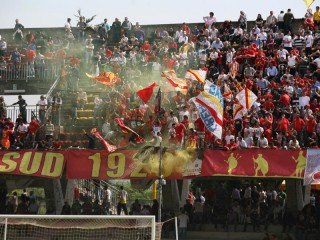Il Benevento vince il derby per 1 a 0. Sorrento in crisi