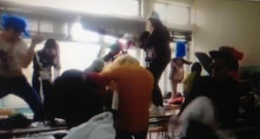 Anche i liceali del Salvemini contagiati dall'Harlem Shake