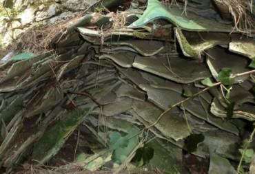 Amianto nei boschi del Monte Faito