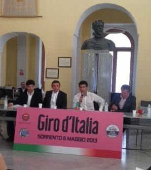 Presentata in Comune la tappa del Giro d'Italia
