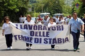 Questa mattina sciopero degli operatori delle terme di Castellammare, previsti disagi nei collegamenti con Napoli