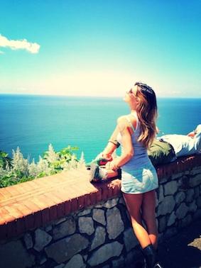 Belen in penisola si rilassa tra sole e paesaggi