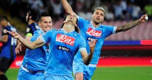 """Cavani suona la """"Carica dei 101"""" e regala la Champions al Napoli"""