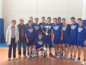 """Pallavolo, l'Istituto Polispecialistico """"San Paolo""""  trionfa ai Giochi Sportivi studenteschi 2013"""