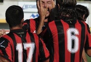 Ancora speranza per il Sorrento che vince a Frosinone 4 a 2