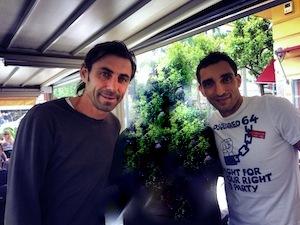 Signori del calcio in piazza Tasso