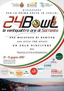 """""""Trofeo Città di Sorrento"""", conto alla rovescia per la 24 ore di Bowling di Sorrento"""
