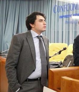Davide Iaccarino, eletto nel direttivo Provinciale dei Giovani Imprenditori di Confcommercio