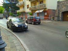 Incidente stradale nella notte lungo via degli Aranci