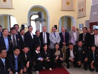 A Sorrento una delegazione del ministero della Salute thailandese
