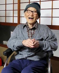 In Giappone è morto l'uomo più vecchio del mondo