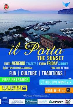 Venerdì di eventi al porto di Marina Piccola