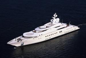 """""""Eclipse"""" lo yacht di Abramovich avvistato a Massa Lubrense"""