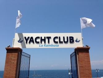 """Una nuova terrazza sul mare: questa sera inaugura la """"Kambusa yacht club"""""""