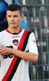 Il giovane calciatore Mario Tammaro ceduto al Genoa