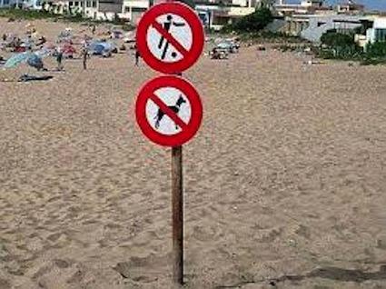divieticaniegiochiinspiaggia
