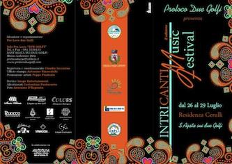 """Venerdì prederà il via a Sant'Agata la seconda edizione de """"Intricanti Music Festival"""""""