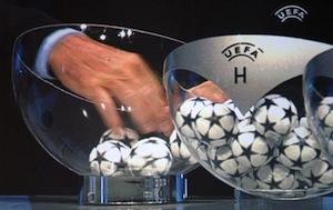 Champions: Il Napoli pesca Arsenal, Borussia Dortmund e Marsiglia