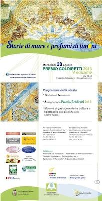 """Al via la quinta edizione del """"Premio Coldiretti"""""""