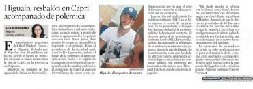 """Sorrento Press e gli scatti in esclusiva Higuain sul giornale spagnolo """"La Vanguardia"""""""