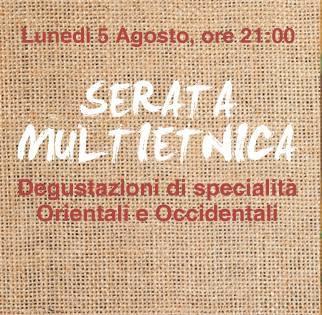 """Serata """"Multietnica"""": Le specialità delle cucine orientali ed occidentali al resort """"Le Axidie"""""""