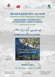 """Giovedì presentazione del libro """"Mitigliano"""" al chiostro di San Francesco"""