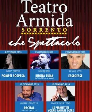 """Torna il grande teatro in penisola sorrentina, si parte con Gilda Arpino e la sua """"Pompei sospesa"""""""