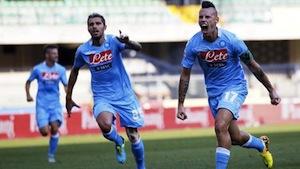Napoli a valanga sul Chievo, Hamsik ancora una doppietta