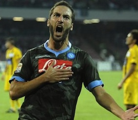 Di Higuain il gol più bello dell'Europa League 2015/2016 – video –