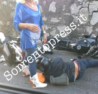 Ancora un grave incidente lungo la Sorrentina