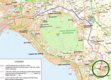 Approvato il progetto per la Statale 268 del Vesuvio