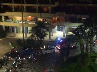 Paura in piazza Lauro per un incendio in un'abitazione