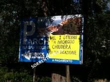 Dal primo ottobre chiude il parcheggio del Capo di Sorrento: rischio caos sosta per residenti, turisti e bagnanti