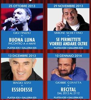 Teatro Armida, dopo il successo di Gilda Arpino tutto pronto per Gigi Finizio