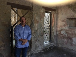 Benitez visita gli scavi di Pompei dopo la vittoria contro il Marsiglia