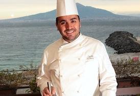 """""""Sua Maestà il gambero"""" è il titolo della lezione di cucina di Giacomo De Simone al Resort """"Le Axidie"""""""