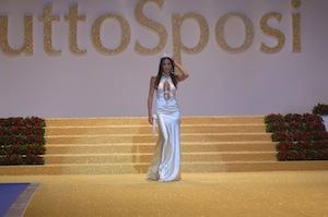 Sabato Elisabetta Gregoraci inaugura alla Mostra d'Oltremare la fiera TuttoSposi