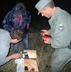 Blitz sui Monti Lattari, scoperto l'arsenale dei bracconieri