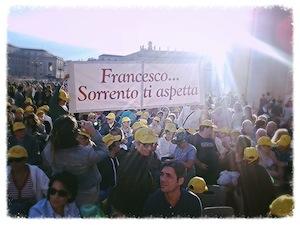 Associazioni disabili della penisola in visita dal Papa