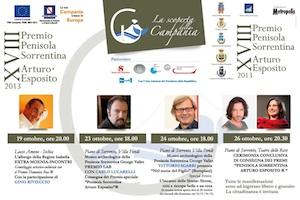 """Grandi personaggi alla 18esima edizione del premio """"Penisola Sorrentina – Arturo Esposito"""""""