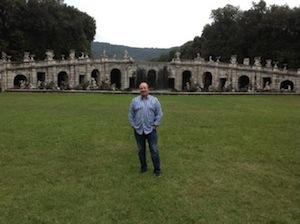 Dopo Pompei, Rafa Benitez visita la Reggia di Caserta