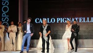 Al TuttoSposi gli abiti sono più romanici e classici, grande spazio dedicato allo sposo che vuole essere protagonista
